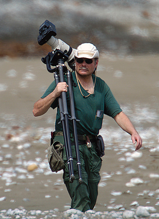2004 - Photographing in Costa Rica